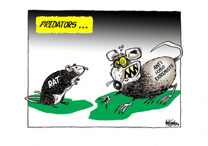 Predators. Rat. Anti 1080 extremists