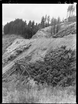 Construction of the western access road