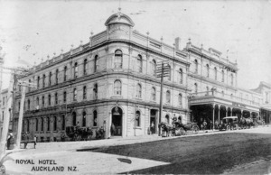 Royal Hotel, Auckland