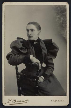 Brusewitz, Henry Elis Leopold, b ca 1855 :Portrait of Ema Brown