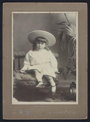Cobb, H S (Mrs) (Napier) fl 1890-1900 :Portrait of Leslie