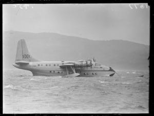 Flying boat Ararangi at Evans Bay
