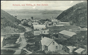 [Postcard]. Kaiwarra, near Wellington, New Zealand. New Zealand post-card (carte postale). [1917]