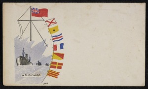 G., E.J.: N.Z. Onward, VICTORY [Envelope. 1940s]