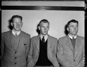 All Blacks Hammond, Robinson and Cockerill