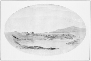 Gilfillan, John Alexander, 1793-1864 :Wai-Kanae Pa and Kapiti. [Before 1847]