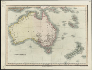 Australasia [cartographic material] / engraved for Smiths Atlas by W.R. Gardner.
