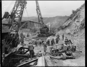 Rimutaka Tunnel track deviation