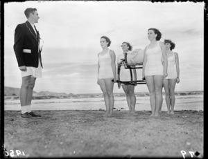 Dominion lifesaving championships, Lyall Bay, Wellington