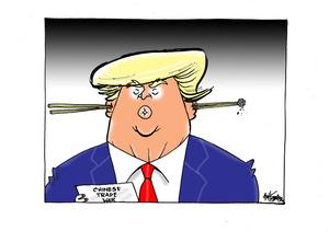 Trump and Chinese trade war