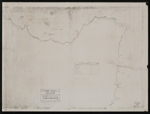 Pickersgill, Richard :A chart of part of the So. Contit. between Poverty Bay and the Court of Aldermen discovered by His Maj.s Bark Endeavour [copy of ms map]. [1769]