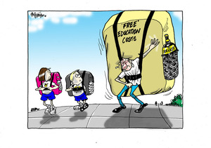 Free education costs