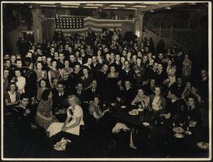 United States Marines and New Zealand women at the Majestic Cabaret, Wellington