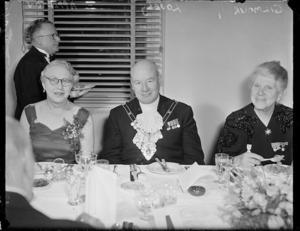 Civic dinner for Sir Denys Lowson