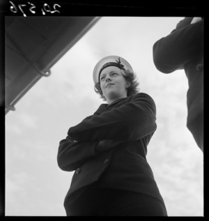 Member of the Women's Royal New Zealand Naval Service