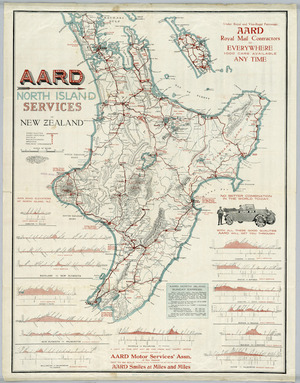 AARD North Island Services of New Zealand [cartographic material].