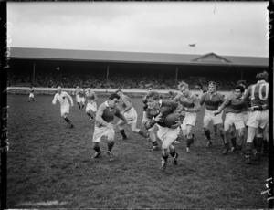 Onslow versus Poneke rugby game