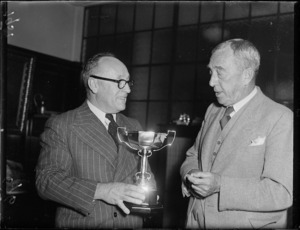 Presentation of the Ron Murray Memorial Cup
