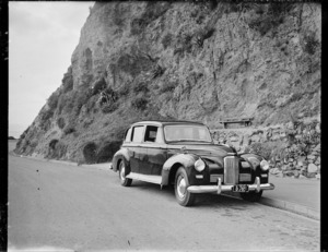 A new Humber car for the mayor of Auckland