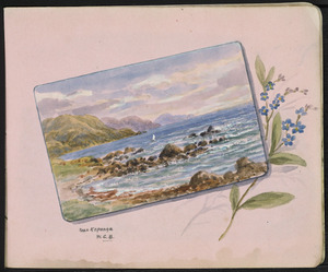 Baker, William George, 1864-1929 :Near Kaponga [1920-1925]