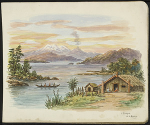 Baker, William George, 1864-1929 :L Taupo [1920-1925]