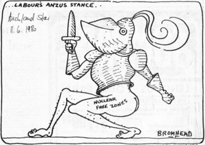 Bromhead, Peter, 1933-:...Labour's A.N.Z.U.S. stance... Nuclear free zones. 11 June 1980.