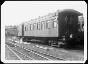 Passenger carriage AF 974 at Auckland