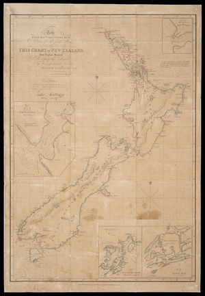 To the Right Honble. Thos. Spring Rice, Secretary of State for the Colonies, this chart of New Zealand, from original surveys is respectfully dedicated [cartographic material] / by Thomas McDonnell ; engraved by Jas. Wyld.