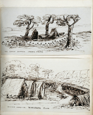 Two sketches of religious services