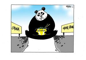 China and Hong Kong activism