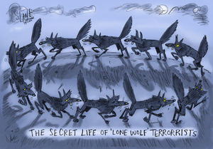 The secret life of lone wolf terrorists