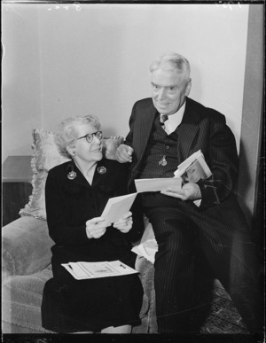 Walter Nash and Mrs Nash