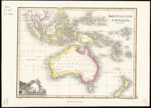 East India Isles & Australia [cartographic material] / drawn by Wyld ; Hewitt sc. Buckingham Place, Fitzroy Sqe.