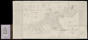 Plan of the city of Wellington [cartographic material] / by Charles O'Neill.