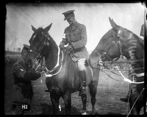 General Godley at the New Zealand Division horse show
