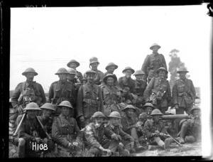 A New Zealand machine gun company after the Battle of Messines