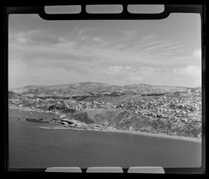 Wellington Harbour, looking toward Kaiwharawhara