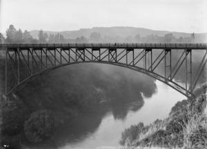 Victoria Bridge over the Waikato River, Cambridge