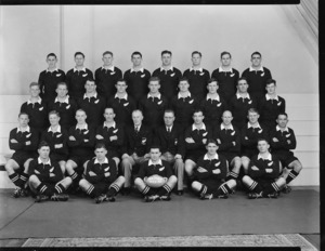 New Zealand rugby touring team (All Blacks) 1953-1954