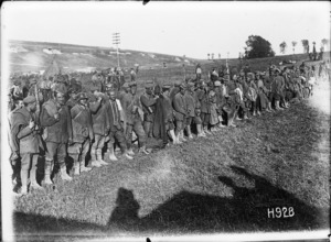 German prisoners in Puisieux, World War I