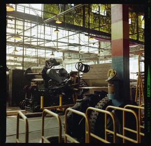 Dunlop tyre factory at Upper Hutt