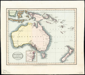 Australia and the adjacent isles [cartographic material] / by John Cary.
