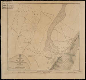 Nelson anchorage [cartographic material] / surveyed by Captn. Stokes, H.M.S. Acheron, 1849.