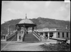 Band rotunda at Greymouth