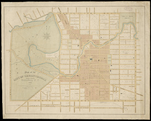 Plan of the city of Christchurch (Selwyn County), Canterbury, N.Z. [cartographic material].