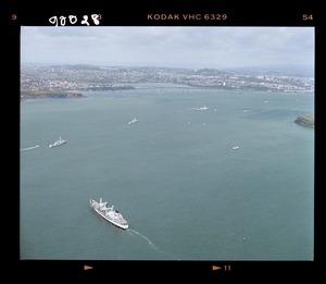 Royal Canadian Navy ships with the naval flotilla