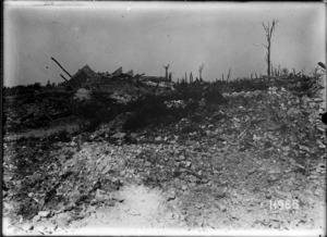 The ruins of Puisieux, France, World War I