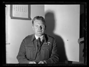 Portrait of Flight Lieutenant A D Bayly, RNZAF