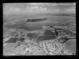 Mangere Sewage oxidation ponds, for Auckland Regional Authority