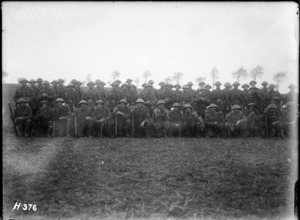 Soldiers of a Wellington Regiment in France